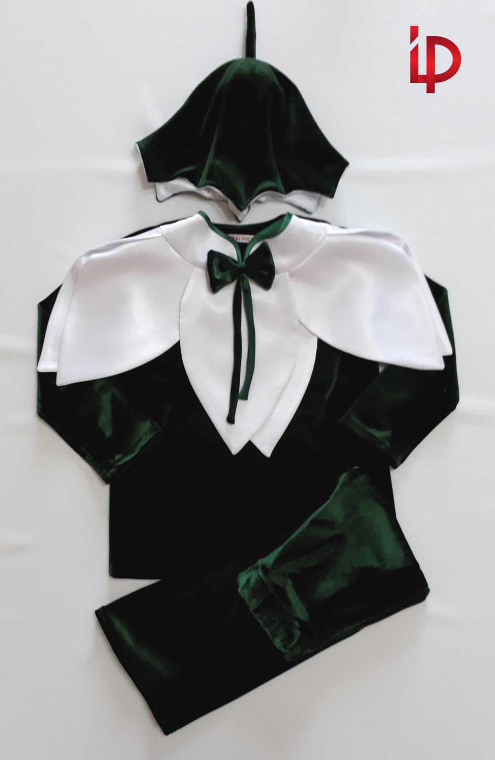 Costum de Ghiocel. Virsta 2-7 ani. Diferite marimi. Realizare la comanda / Chirie.
