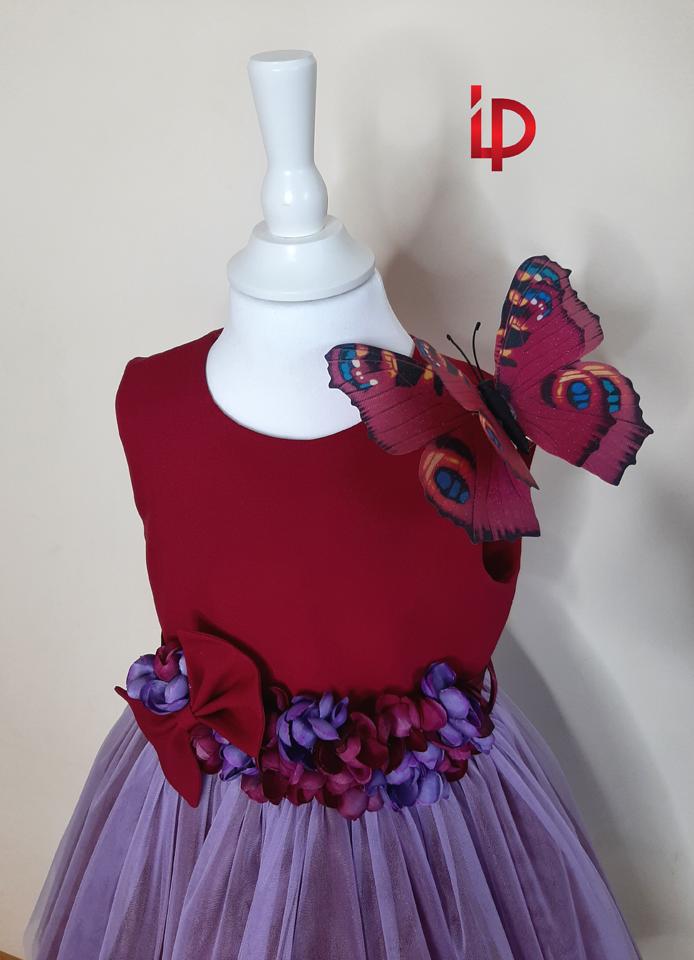 rochie brindusa de primavara