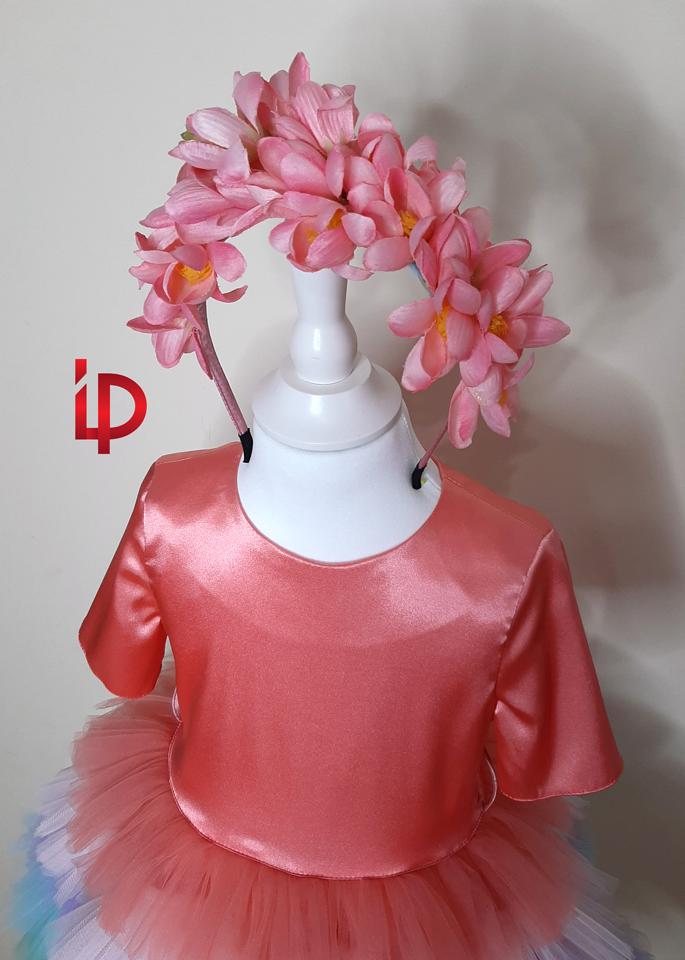 rochie unicorn 3-4 ani