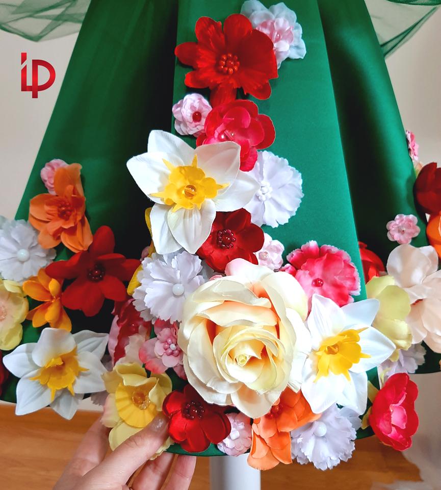 rochie zina primaverii - chirie - arenda